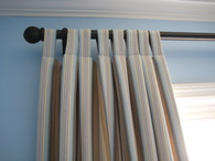 Tab Top Curtains in London